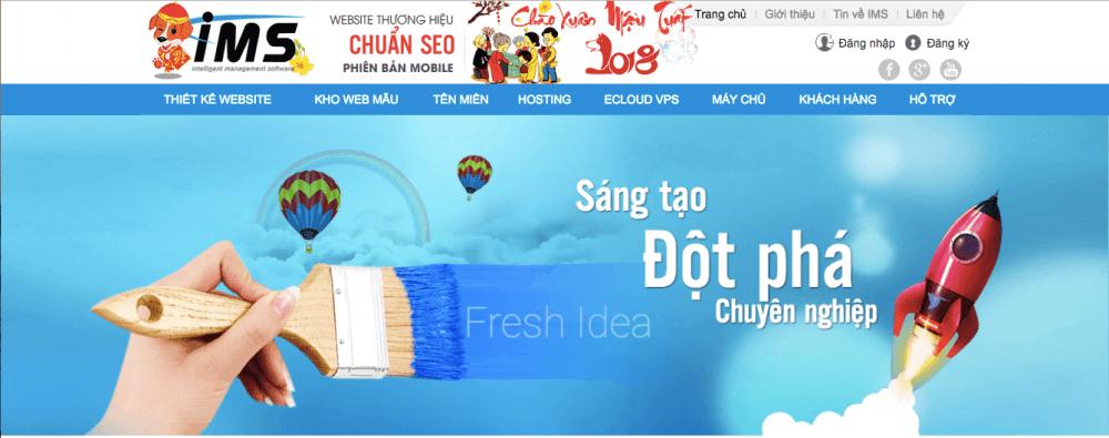 công ty thiết kế website hcm