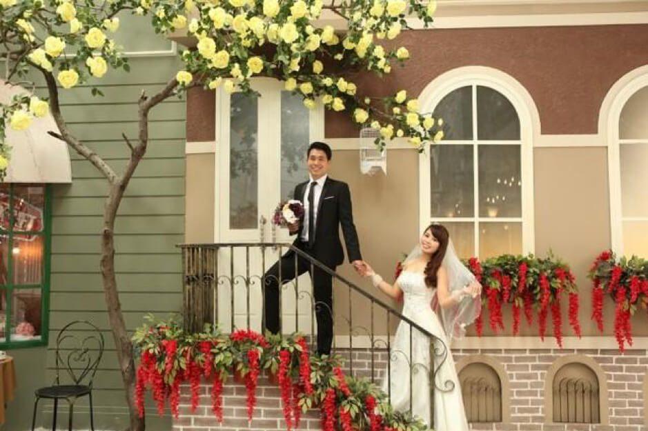 phim trường chụp ảnh cưới đẹp nhất tại Hà Nội