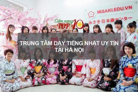 trung tâm dạy tiếng Nhật uy tín ở Hà Nội