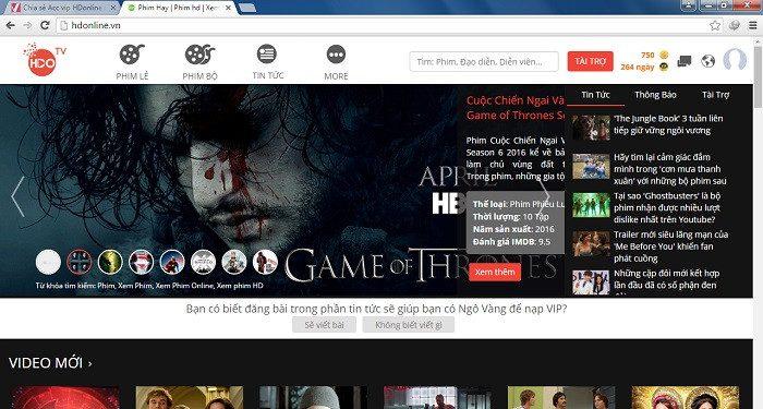 10 Trang Web Xem Phim Hd Online Tot Nhat 1
