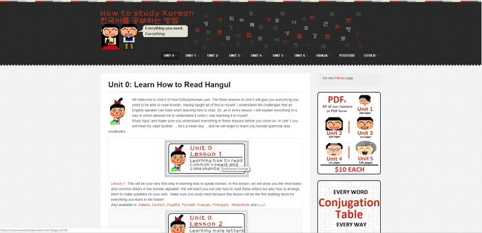 10 Website Hoc Tieng Han Online Tot Nhat 7